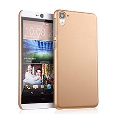 Etui Plastique Rigide Mat pour HTC Desire 826 826T 826W Or
