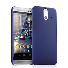 Etui Plastique Rigide Mat pour HTC One E8 Bleu