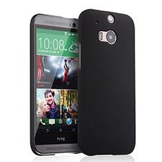 Etui Plastique Rigide Mat pour HTC One M8 Noir
