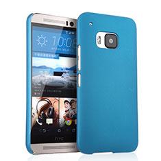 Etui Plastique Rigide Mat pour HTC One M9 Bleu Ciel