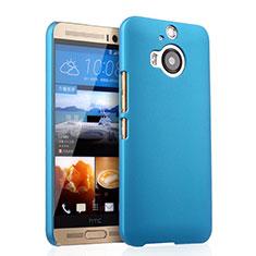 Etui Plastique Rigide Mat pour HTC One M9 Plus Bleu Ciel