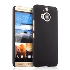Etui Plastique Rigide Mat pour HTC One M9 Plus Noir