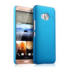 Etui Plastique Rigide Mat pour HTC One Me Bleu Ciel
