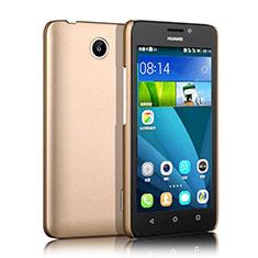 Etui Plastique Rigide Mat pour Huawei Ascend Y635 Dual SIM Or