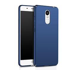 Etui Plastique Rigide Mat pour Huawei Enjoy 6 Bleu