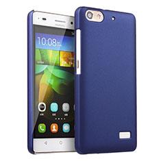 Etui Plastique Rigide Mat pour Huawei G Play Mini Bleu