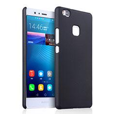 Etui Plastique Rigide Mat pour Huawei G9 Lite Noir