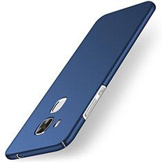 Etui Plastique Rigide Mat pour Huawei G9 Plus Bleu