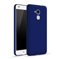 Etui Plastique Rigide Mat pour Huawei Honor 5C Bleu