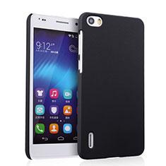 Etui Plastique Rigide Mat pour Huawei Honor 6 Noir