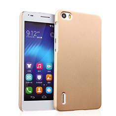 Etui Plastique Rigide Mat pour Huawei Honor 6 Or