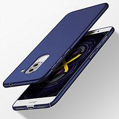 Etui Plastique Rigide Mat pour Huawei Honor 6X Pro Bleu