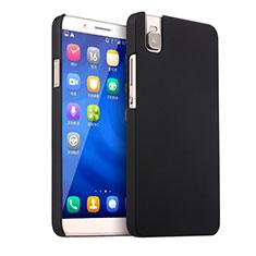 Etui Plastique Rigide Mat pour Huawei Honor 7i shot X Noir