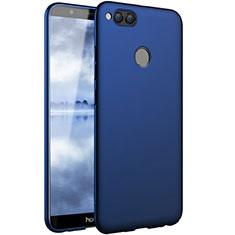Etui Plastique Rigide Mat pour Huawei Honor 7X Bleu