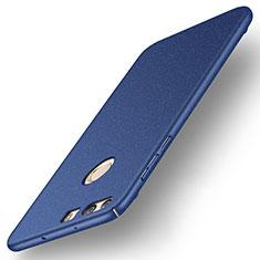 Etui Plastique Rigide Mat pour Huawei Honor 8 Bleu