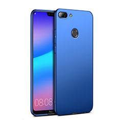 Etui Plastique Rigide Mat pour Huawei Honor 9i Bleu