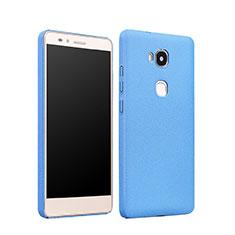 Etui Plastique Rigide Mat pour Huawei Honor Play 5X Bleu Ciel