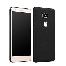 Etui Plastique Rigide Mat pour Huawei Honor Play 5X Noir