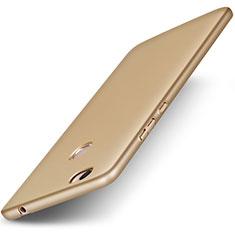 Etui Plastique Rigide Mat pour Huawei Honor V8 Max Or