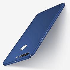 Etui Plastique Rigide Mat pour Huawei Honor V9 Bleu