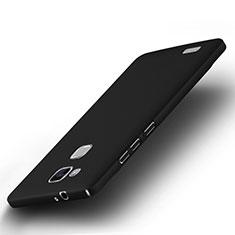 Etui Plastique Rigide Mat pour Huawei Mate 7 Noir