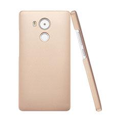 Etui Plastique Rigide Mat pour Huawei Mate 8 Or