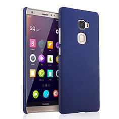 Etui Plastique Rigide Mat pour Huawei Mate S Bleu