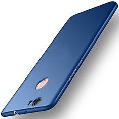 Etui Plastique Rigide Mat pour Huawei Nova Bleu