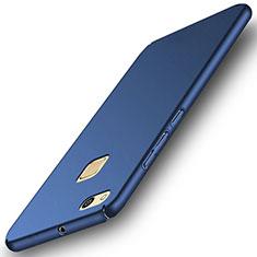 Etui Plastique Rigide Mat pour Huawei P10 Lite Bleu