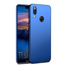 Etui Plastique Rigide Mat pour Huawei P20 Lite Bleu