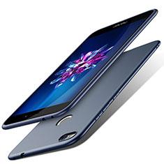 Etui Plastique Rigide Mat pour Huawei P8 Lite (2017) Bleu