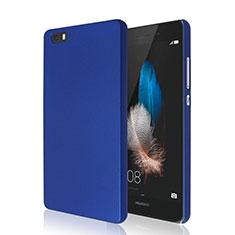 Etui Plastique Rigide Mat pour Huawei P8 Lite Bleu