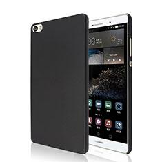 Etui Plastique Rigide Mat pour Huawei P8 Max Noir