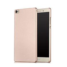 Etui Plastique Rigide Mat pour Huawei P8 Max Or Rose