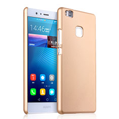Etui Plastique Rigide Mat pour Huawei P9 Lite Or