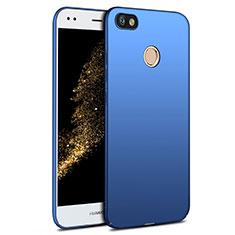 Etui Plastique Rigide Mat pour Huawei Y6 Pro (2017) Bleu