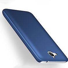 Etui Plastique Rigide Mat pour Huawei Y6 Pro Bleu