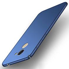 Etui Plastique Rigide Mat pour Huawei Y7 Prime Bleu