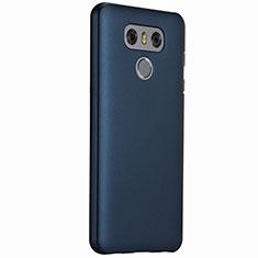 Etui Plastique Rigide Mat pour LG G6 Bleu