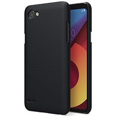 Etui Plastique Rigide Mat pour LG Q6 Noir