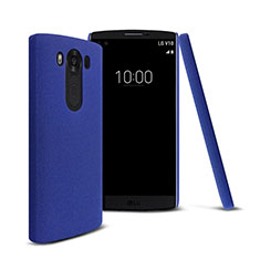 Etui Plastique Rigide Mat pour LG V10 Bleu