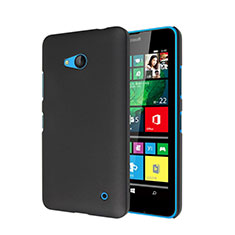 Etui Plastique Rigide Mat pour Microsoft Lumia 640 Noir