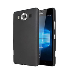 Etui Plastique Rigide Mat pour Microsoft Lumia 950 Noir