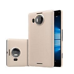 Etui Plastique Rigide Mat pour Microsoft Lumia 950 XL Or