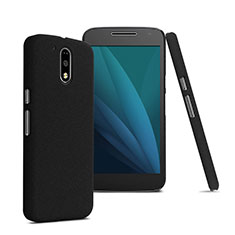 Etui Plastique Rigide Mat pour Motorola Moto G4 Plus Noir