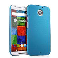Etui Plastique Rigide Mat pour Motorola Moto X (2nd Gen) Bleu Ciel
