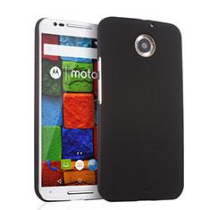Etui Plastique Rigide Mat pour Motorola Moto X (2nd Gen) Noir