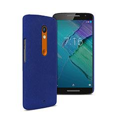 Etui Plastique Rigide Mat pour Motorola Moto X Play Bleu