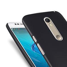 Etui Plastique Rigide Mat pour Motorola Moto X Style Noir