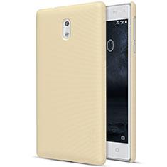 Etui Plastique Rigide Mat pour Nokia 3 Or